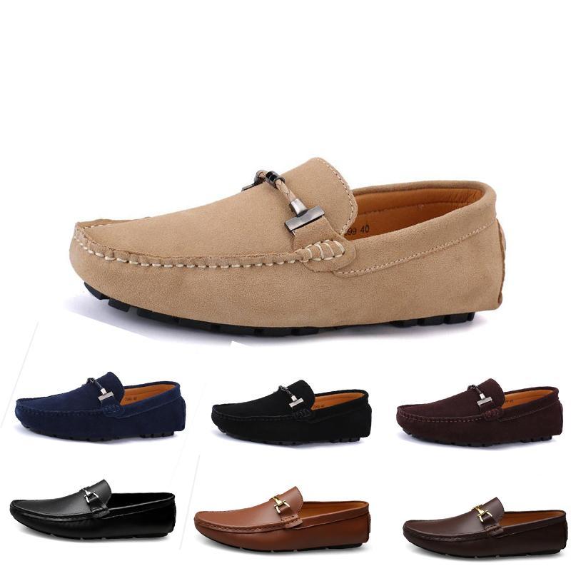 2020 nuevos hombres zapatos casuales alpargatas redonda de color amarillo castaño oscuro aliento rojos de Bowtie piel entrenador de envío OL7 triple de la zapatilla de deporte para caminar