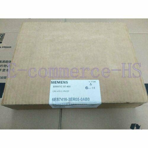 Nueva Siemens S7-400 6ES7 416-3ER05-0AB0 CPU416-3 PN / DP Módulo 6ES7416-3ER05-0AB0