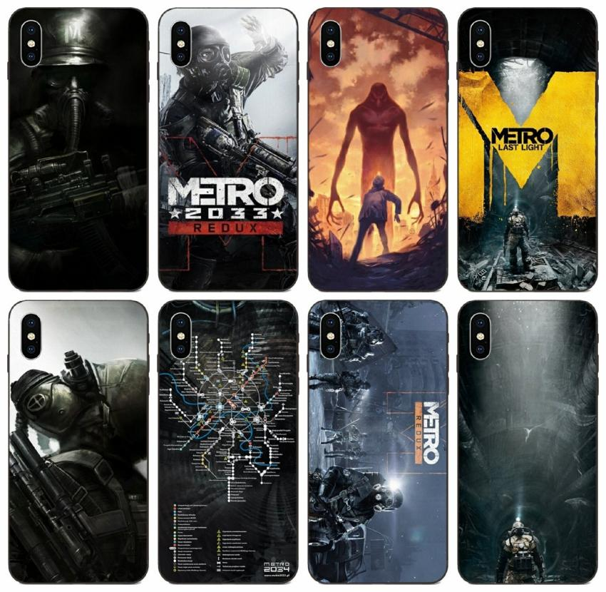 [TongTrade] Metro 2033 Metro Last Light Case For iPhone X XS 11 Pro Max 8 7 6s 6 5s Samsung A90 A9S Huawei Y9 Prime Sony Xperia Z1 1Pcs Case