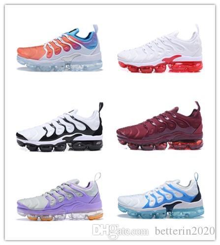 2019 Nuovi arrivi TN Plus scarpe da corsa da donna rosa bianco viola ragazze uva da donna scarpe da ginnastica sportive da ginnastica all'aperto da donna