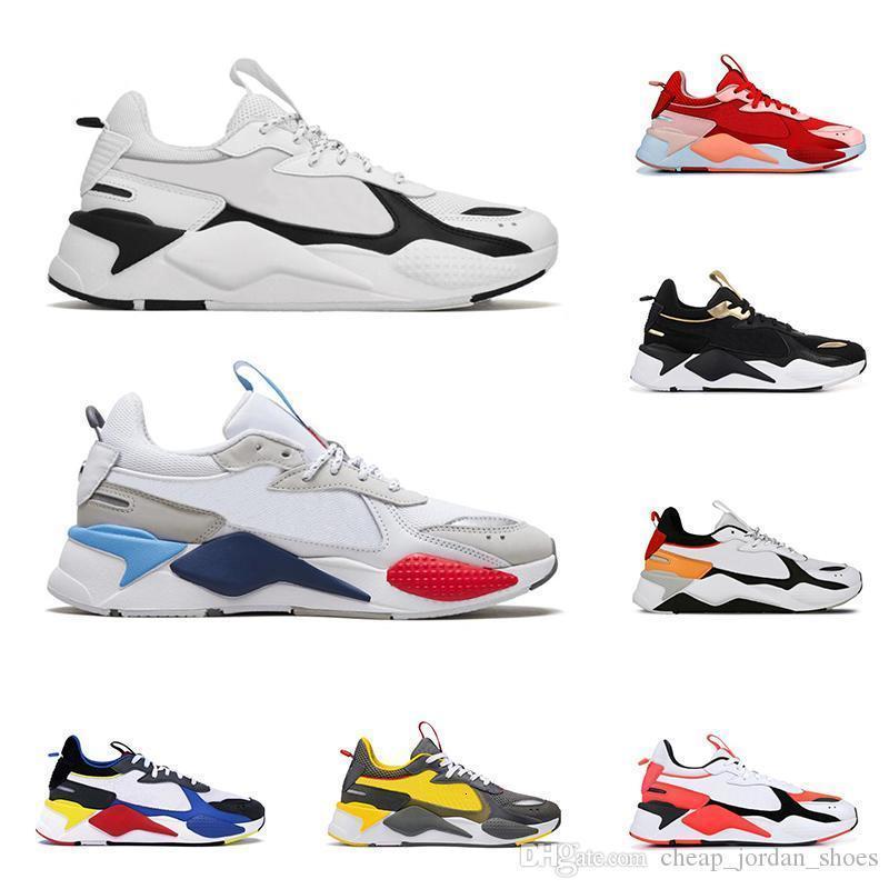 Hot rs-x venda Reinvenção Brinquedos homens mulheres sapatos casuais triplos Preto Vermelho BLAST Tracks mens formadores respirável plataforma sneakers tamanho 36-45