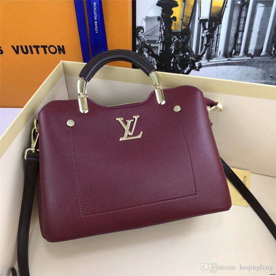 19ss Leather Tote casuale Sac borse e borsette di lusso Borse Borse donne designer sacchetti delle signore della spalla della mano per le donne Bolsa