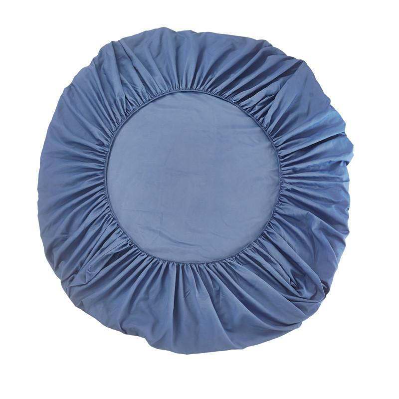 Solido Colore Coprimaterasso altezza del letto 30 CM Re Grembiule copriletto lenzuola 150 * 200 copriletto lenzuolo con 3pcs federa