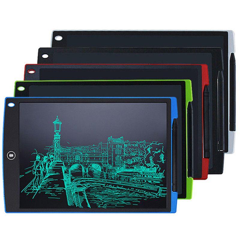 12 بوصة LCD الكتابة الرسم اللوحي الرقمية وحي الكتابة اليدوية منصات المحمولة الالكترونية اللوحي مفتوحة مفتوحة رقيقة جدا