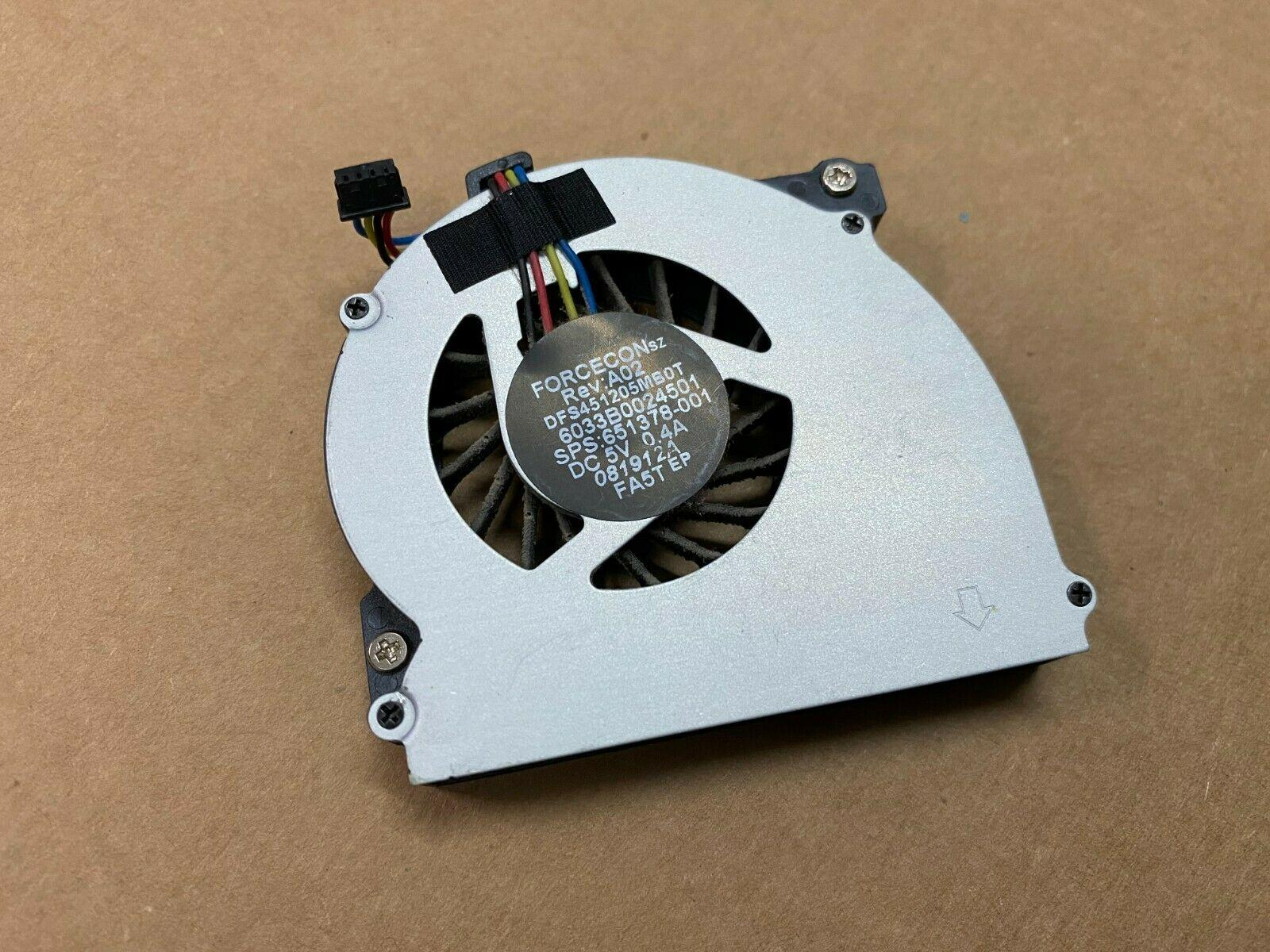 laptop cooling cpu fan for HP EliteBook 2560 2570 2560p 2570P 651378-001 DFS451205MB0T