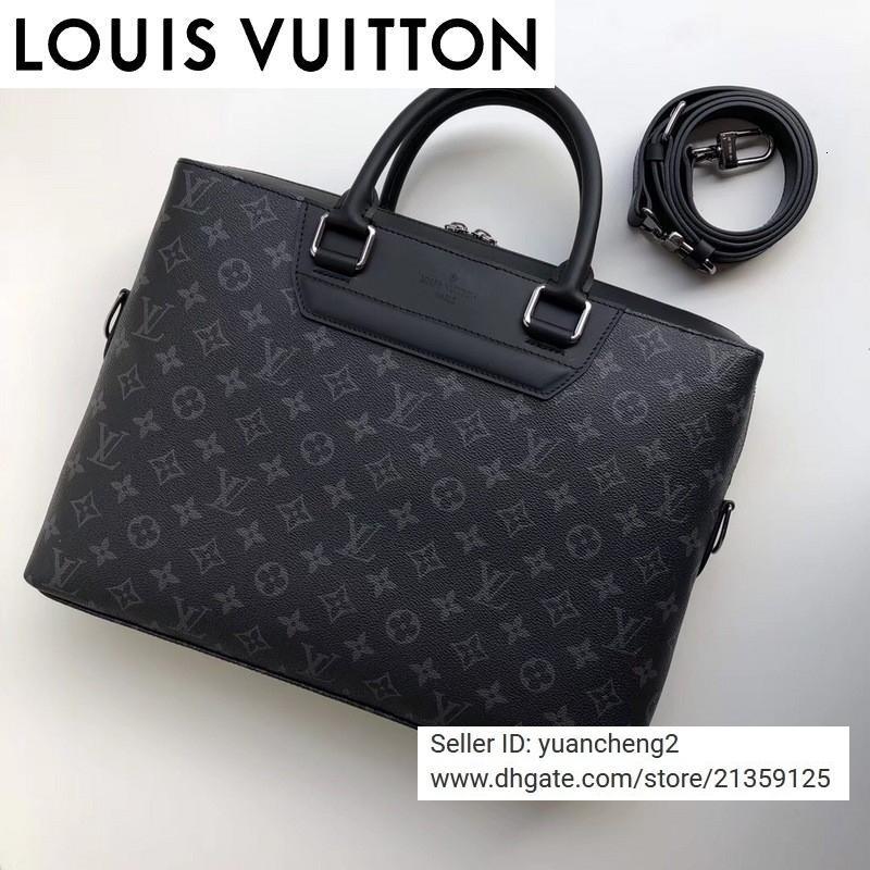 SACOS Yangzizhi2 Negócios saco de moda clássica M44222 MEN MOCHILAS KeepAll sacos de negócios TOTE MESSENGER SOFTSIDED rolling bagagem BAG