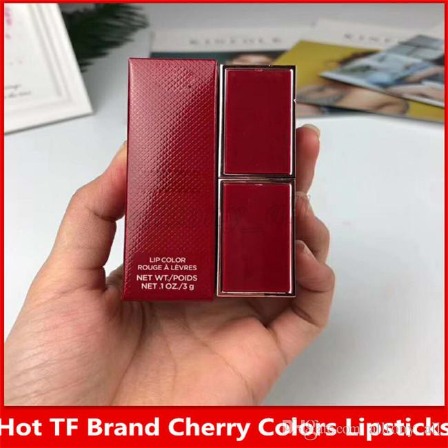 New hot in stock TF very famous brand cherry single lipsticks ,waterproof and with high quality