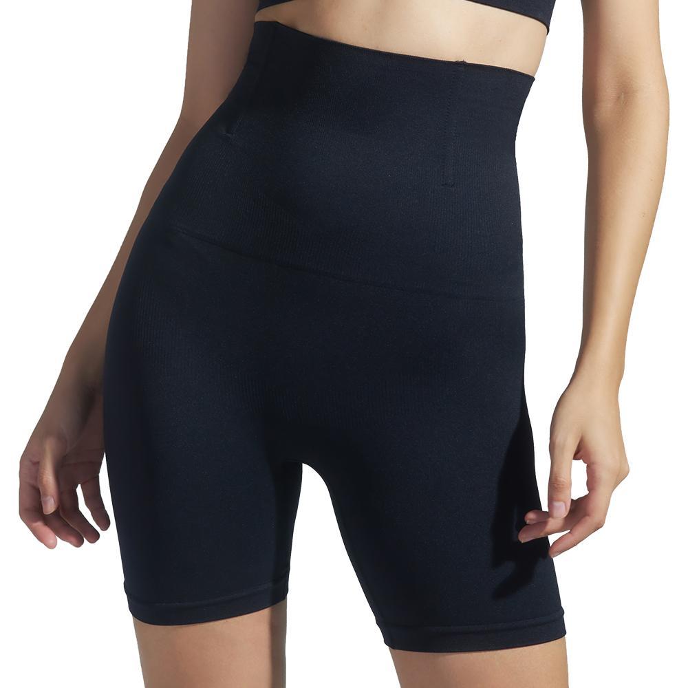 Женские высокой талией Плюс Размер Живот Hip Брюки сексуальное нижнее белье Дизайнерские Длинные Раздел Бесшовная тела формируя корсет для похудения Boxer Трусы