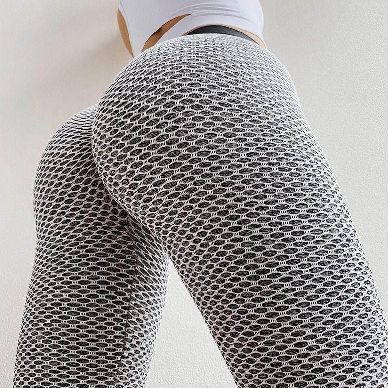 Push Up Frauen Sexy Yoga Pants Gym Leggings mit hoher Taille Sports Hosen Workout Laufen Leggins Fitness Leggings Mujer Yoga