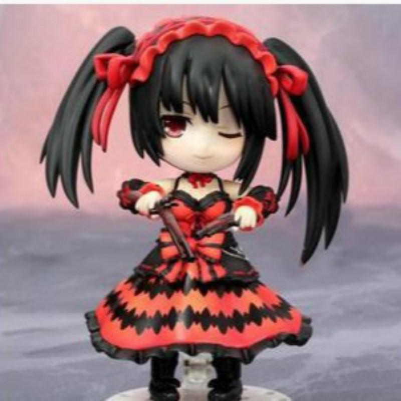 Tokisaki Kurrumi 466 Q Clay Nightmare DATE A LIVE PVC Action Toy Figures Japanese Anime Figure Collectible Figurines T200304