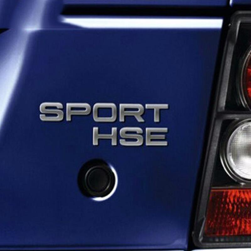 Discovery Defender Car Styling SPORT HSE SPORTHSE Rear Tail Trunk Car Emblem Badge Sticker Decal