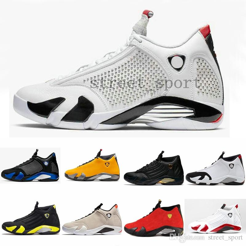 2019 Mens 14 x Sup Rivet Reverse Ferrar Designer Basketball Shoes Yellow Rip Hamilton XIV 14s Baskets Trainers des Chaussures Homme Schuhe