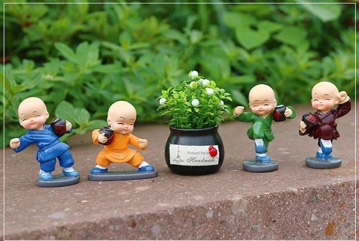 Car perfume car decoration, small monk interior decoration, auspicious fruit plant small fresh car aromatherapy