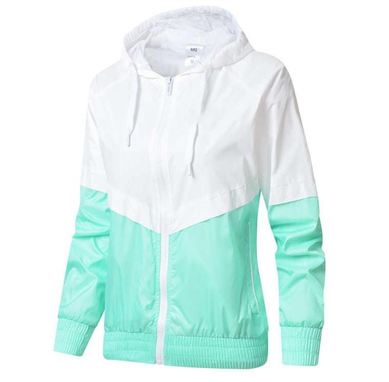 2020 Veste coupe-vent Designer Vestes Femme Mode Hoodie Zipper capuche Vestes Outdoor Sport Lettre Vêtements pour femmes