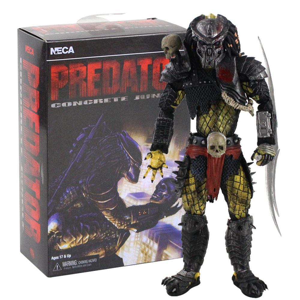 21 cm 2020 New Aliens vs Predator Series Concrete Jungle PVC Action Figure Collectible Model Toy