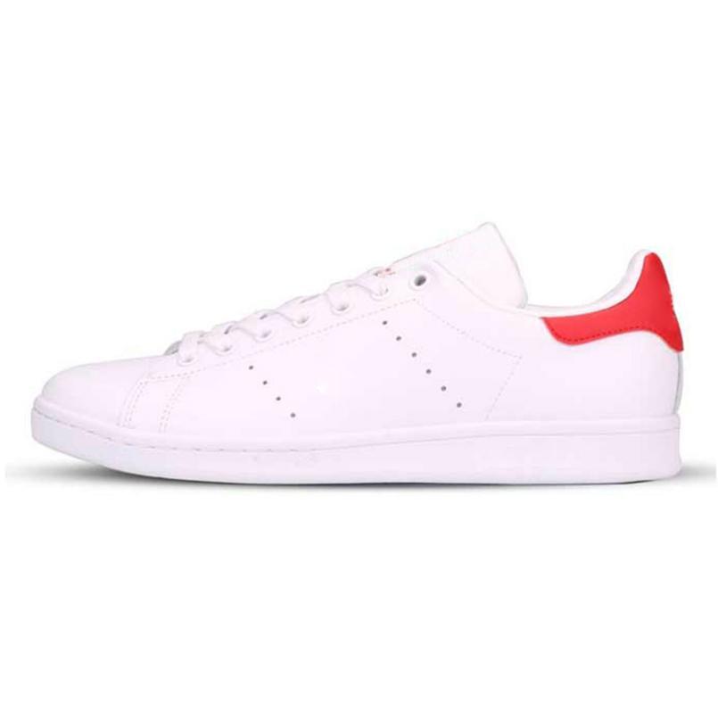 kutu ile 2018 Smith Günlük Ayakkabılar Ucuz Raf Simons Stan Smiths Bahar Bakır Beyaz Yeşil Siyah Moda Deri markası Kadınlar Wen Ayakkabı