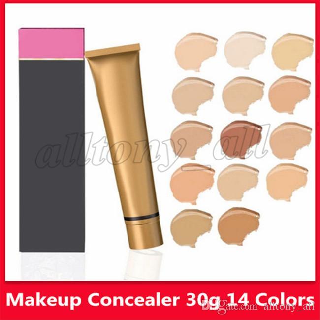 maquillage Hot base Make Up Cover Extreme Revêtement Fond de teint liquide 30g imperméable Hypoallergénique peau Correcteur 14 couleurs en stock