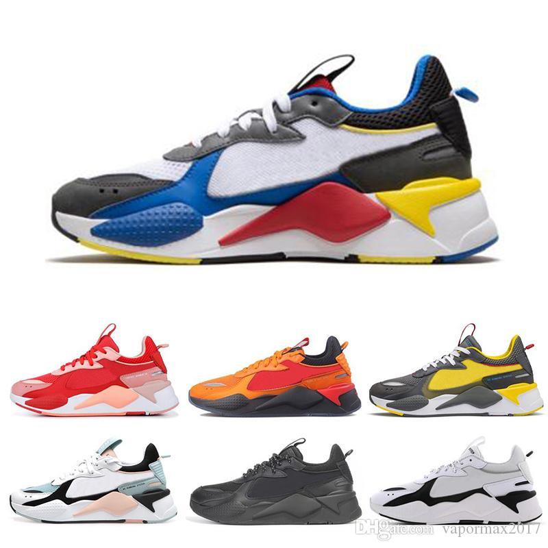 total collar sentar  Compre PUMA RS X Toys Nuevo RX S Reinvención Hombre Para Mujer Zapatos  Blanco Gris Talla De Oro Rojo Negro Para Hombre De La Marca Multicolor  Verde Zapatos De La Zapatilla 36