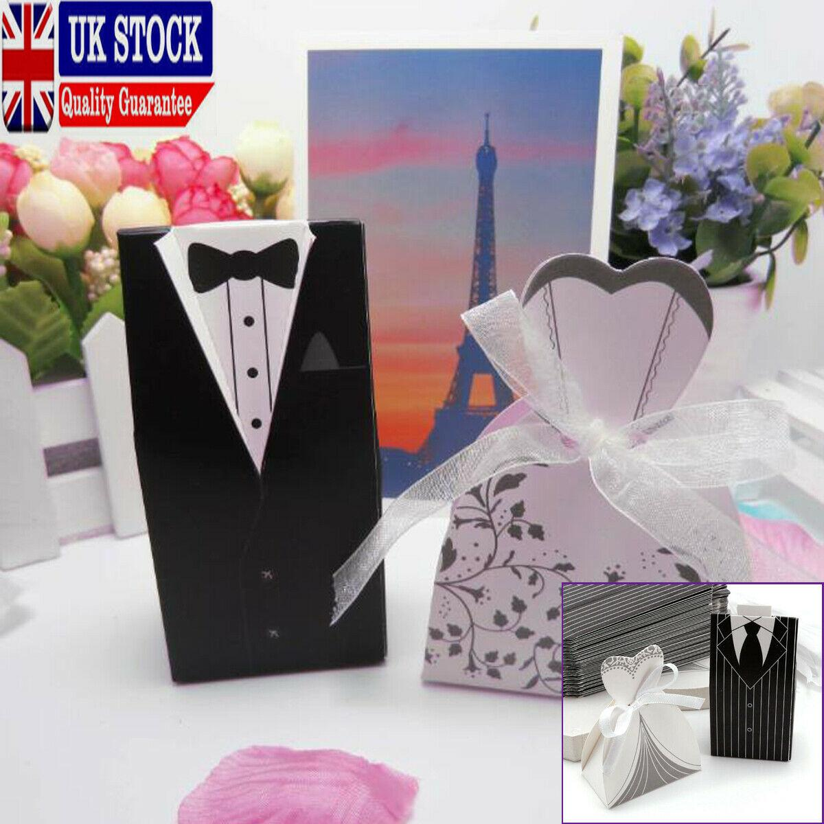 Bride Groom Wedding Favour Candy Boxes Sweets Gift For Guest With Ribbon Buy Gift Bags Buy Gift Bags Online From Wangxiaofeng806 10 38 Dhgate Com