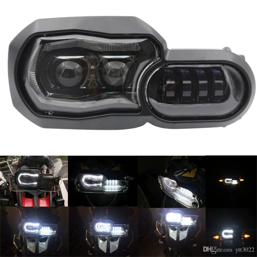 LED Headlight Angel Eyes for BMW F650GS F700GS F800GS Led Headlights Motorcycle Accessories