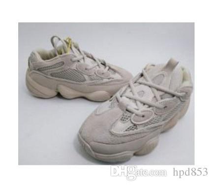 Nouveau Kanye West 500 Desert Rat Blush 500s Sel Super Moon Jaune Utilitaire Noir Hommes Chaussures de course pour hommes Femmes Baskets E568