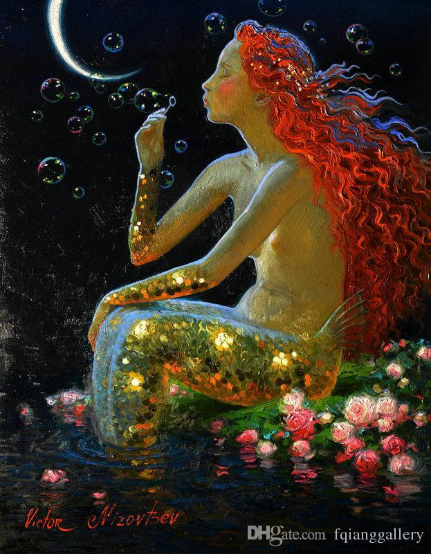 Modern Mermaid Art
