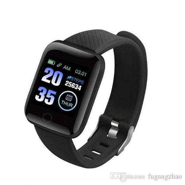 Nuovi braccialetti intelligenti Fitness Tracker Pedometro Cinturino per il monitoraggio della pressione sanguigna Impermeabile braccialetto intelligente per la salute all'aperto 5 in 1