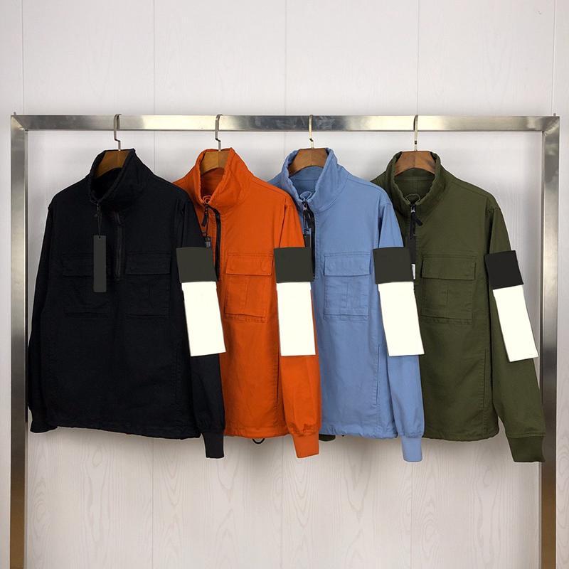Moda Mens Stylist Jacket Vestuário Homens Mulheres Cores sólidas Jacket Autumn Mens Stylist Jacket Mens estilista da forma casacos tamanho M-XXL