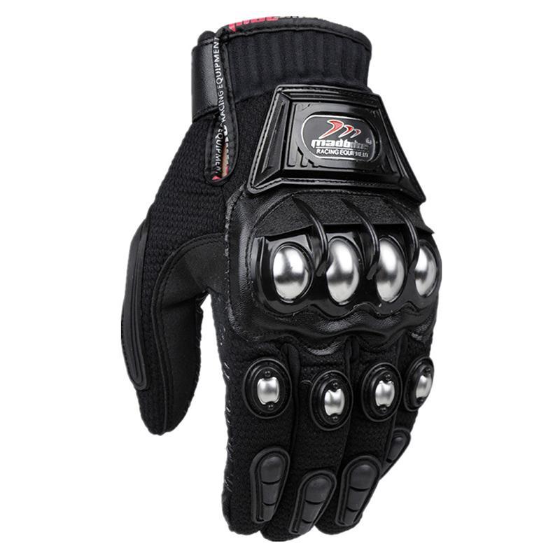 elektrikli araba alaşım koruması açık parçalanmaya dayanıklı eldivenler hediye rüzgar geçirmez yarış Erkek moda motosiklet sürme spor eldiven