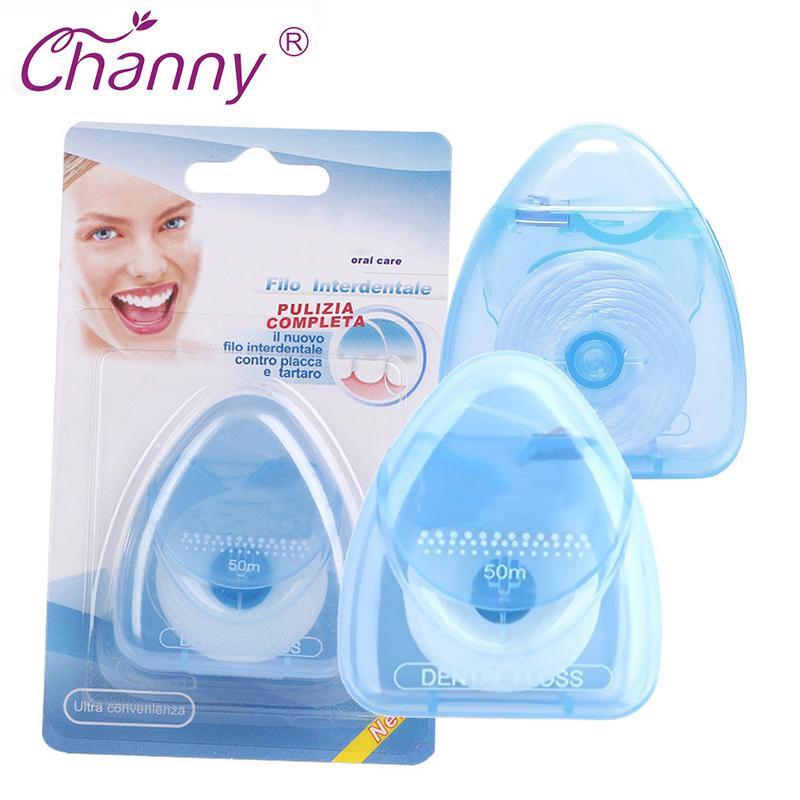 1Pcs 50M Dental Floss Oral Hygiene Kit Teeth Care Oral Care Tooth Clean Fio Dental Dentes Oral Dental Floss C18112601
