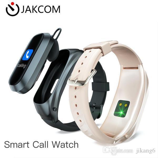 JAKCOM B6 Smart Call Watch New Product of Headphones Earphones as lobster wall decor lcd displays bracelet