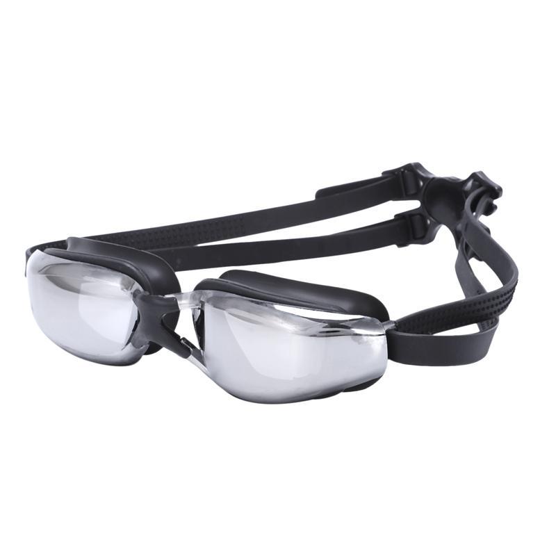 TOP! -Swimming نظارات لمكافحة الضباب فوق البنفسجية قابل للتعديل طلاء مقاوم للماء الرجال النساء نظارات شمسية الكبار