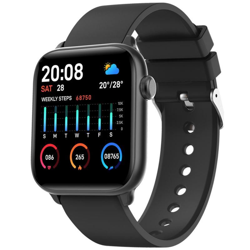 Bekintek IP68 ماء smartwatch الرياضة بلوتوث الذكية ووتش اللياقة تعقب القلب معدل ضغط الدم مراقب النوم لالروبوت ios