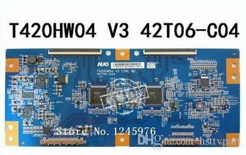100% TEST Logic T-CON-Brett für T420HW04 V3 CTRL BD 42T06-C04