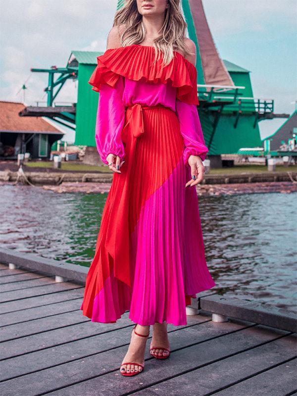 Cubierta de natación pareo pareo vestido de la mujer para arriba para las mujeres ropa de playa de la túnica La Pareos encubrimiento de verano de la nueva Línea continua Acetato