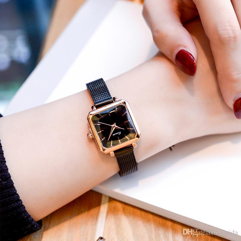 Relógios por atacado Marca Original Nova Moda de Luxo Senhoras Analógico Pulseira de Relógio de Quartzo Rosa de Ouro Relógios De Pulso Mulheres Montre Femme Hodinky