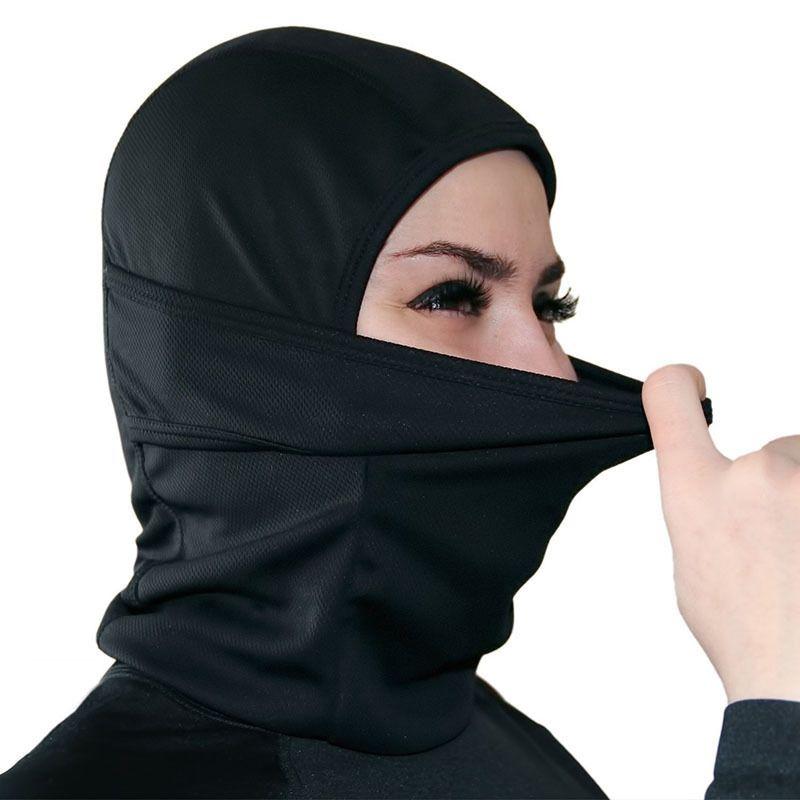 Máscara de deportes al aire libre con máscara de invierno Montar cortavientos protector solar a prueba de polvo Mantener caliente Sombrero enmascarado 12 Estilo HHA1000