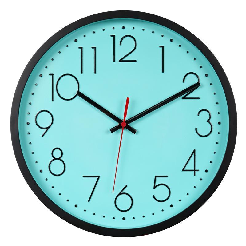 12 Inches Wall Watch Wall Clocks Bathroom Clock Loudspeaker Mute