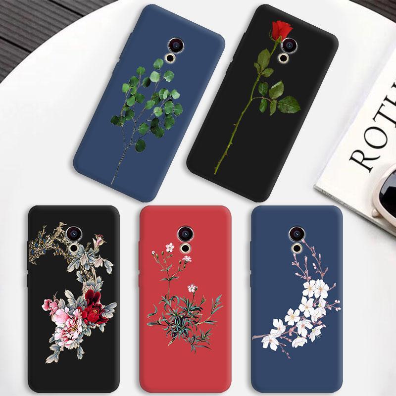 Candy Matte TPU чехол для телефона Meizu 15 Lite Plus E3 MX6 M5 M6 Note Pro 6 5 M6S Mobile Bloom чехол для телефона OnePlus 5T Coque