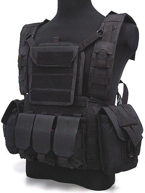 Molle Mensa idratazione di combattimento tattico RRV maglia nera
