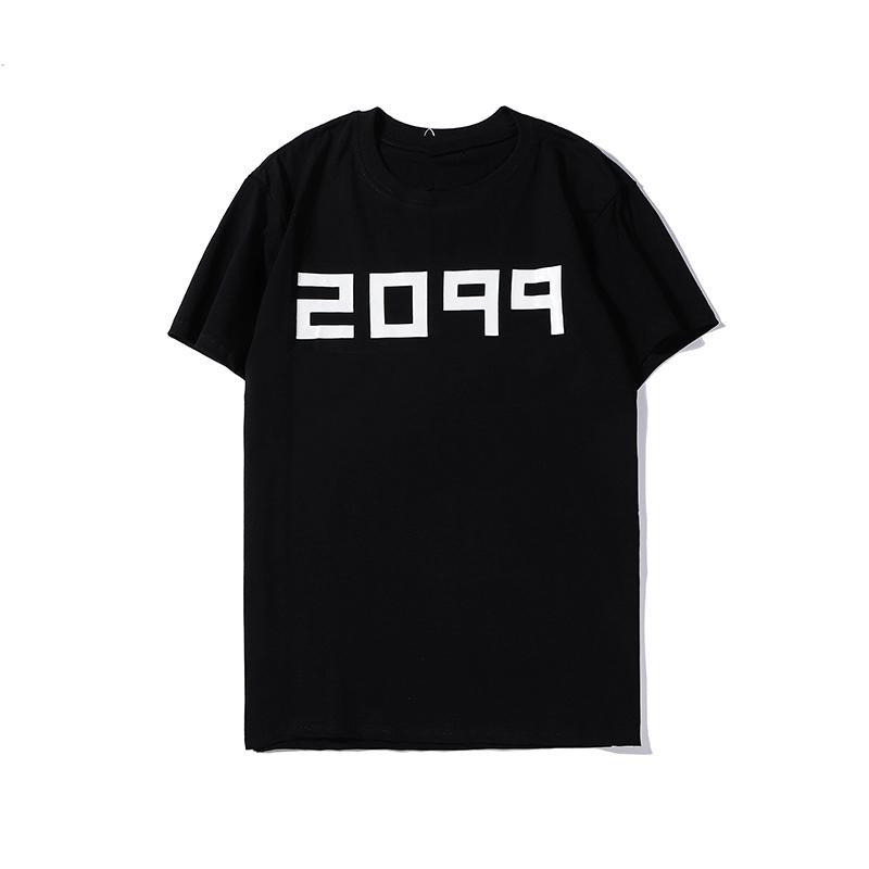 Nueva T verano camisas para hombre del diseñador de moda de los hombres de la marca remata la camisa de manga corta con letras impresas del cuello barco remata tes Ropa M-3XL2