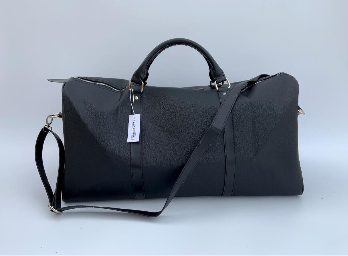 54cm Marke Handtaschen Brief Big Capacity Eimer Tasche Reise Umhängetaschen Duffle Gestreifte Strandtasche Unisex Street Gepäck mit Seriennummer