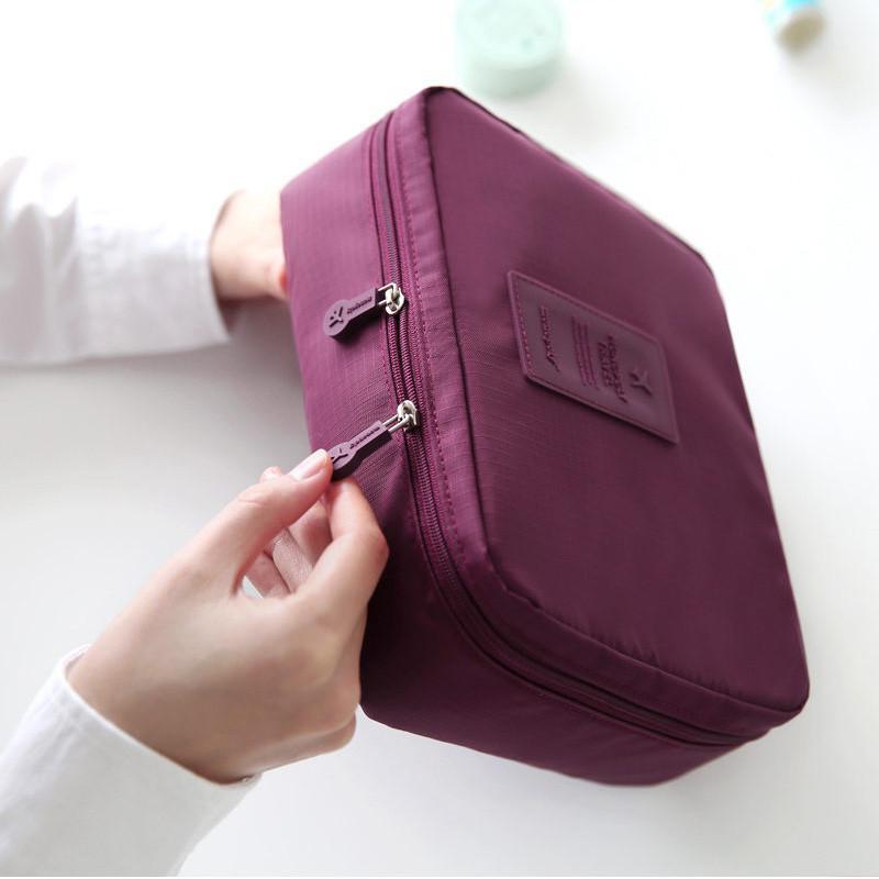 대용량 여행 주최자 가방 멀티 기능 세척 보관 가방 화장품 가방 버그 가방 여성 핸드백 의지와 모래 무지를 구성