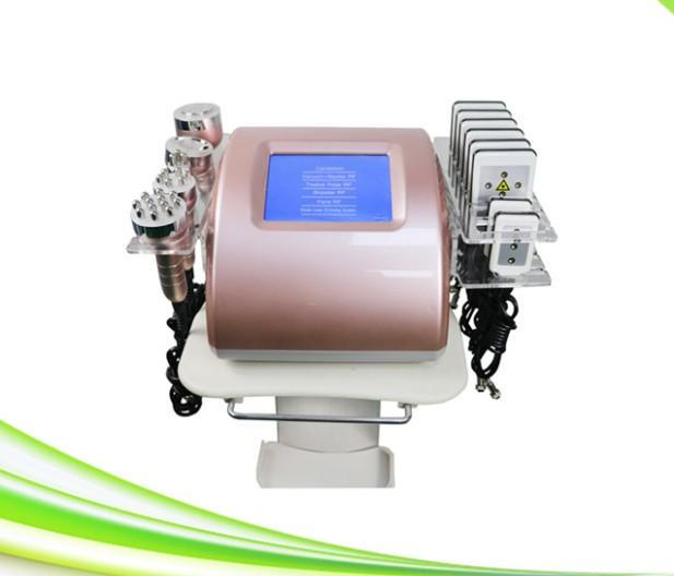 nuevo 6 en lipo láser pérdida de grasa cavitación cavitación rf adelgazamiento máquina lipo láser 1 de vacío