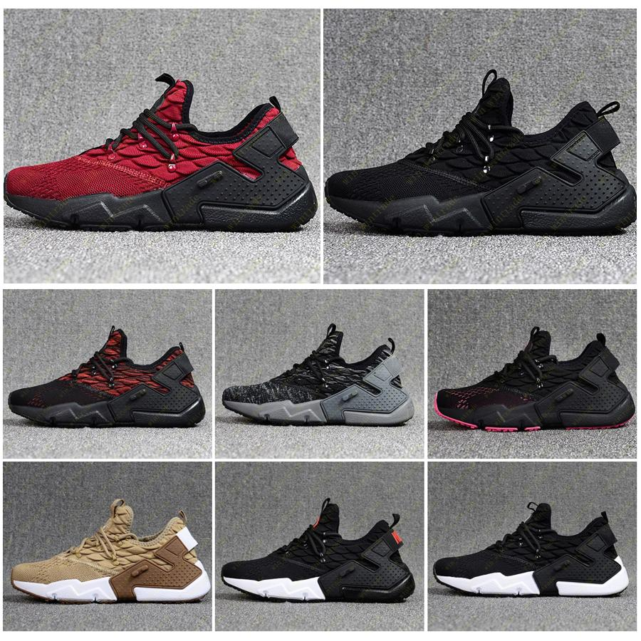 Erkek Yeni Huaraches 6 Ultra Run Örgü Koşu Ayakkabıları Huarache Sneakers Sürüklenme Eğitmenler Hurache Hurache Zapatos Spor Ayakkabı Boyutu 40-46