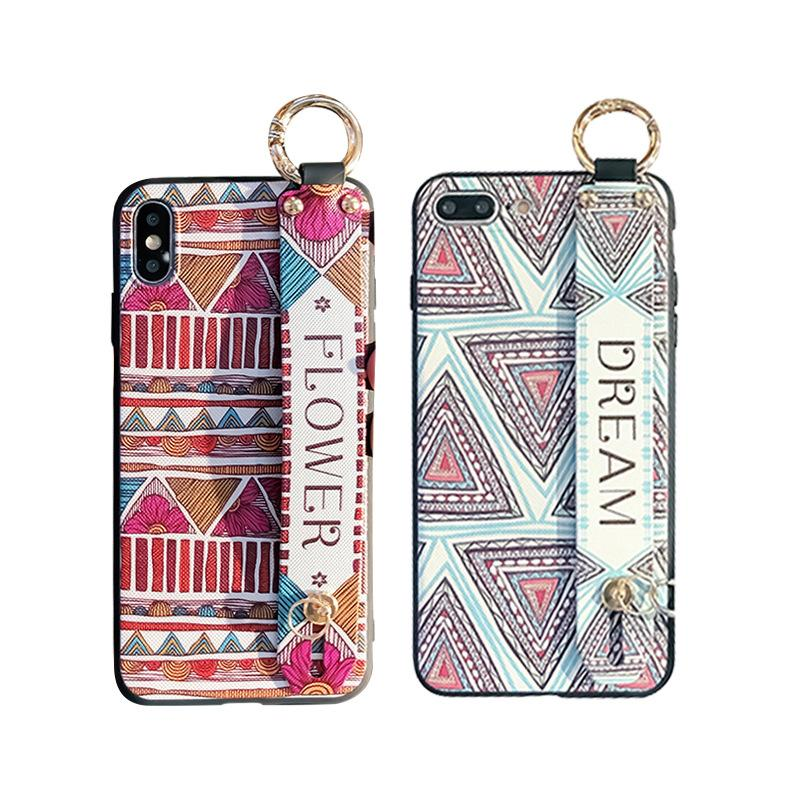 Phone Case for Iphone 11 /11pro/11promax XR XSMAX X/XS 7P/8P 7/8 6P/6sP 6/6s HUAWEI P30/P30pro with Lanyard Fashion TPU Back Cover Wholesale