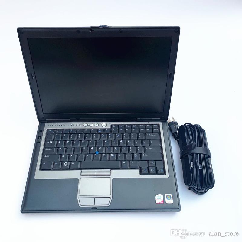 O auto computador diagnóstico do carro para o portátil D630 com 4gb Ram pode ser usado dentro para MB Star C4 / estrela MB C5 melhor preço