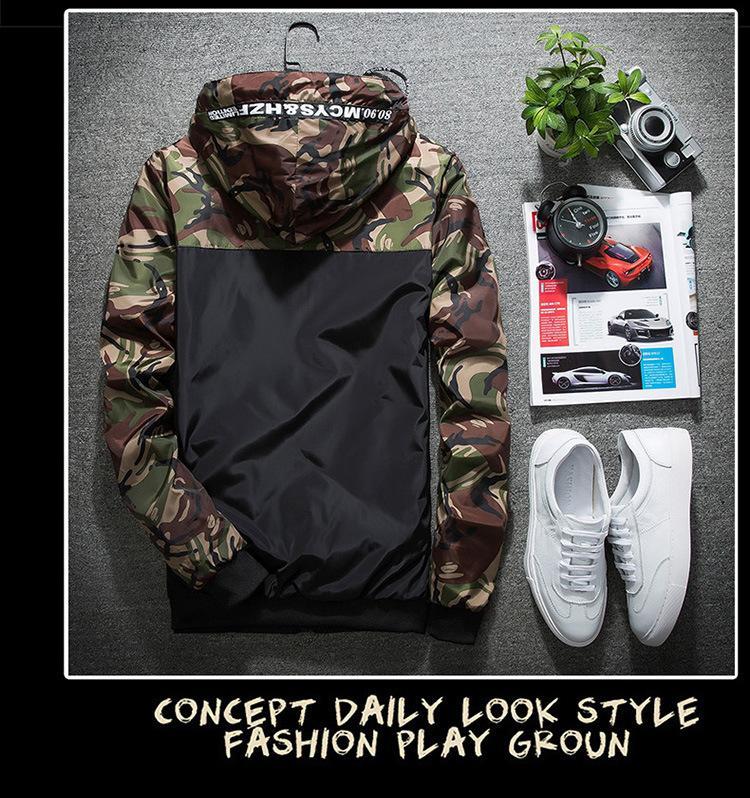 Giacche con cappuccio stile moda Outdoor Wear Poliestere sportivo da corsa Abbigliamento da trekking Giacca da uomo moda New Windbreaker Giacca taglia M-5XL