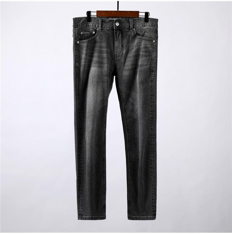 TOPSTONEY 2020SS Frühling und beiläufige Herbst Männer gerade geschnittene Jeans Trend der europäischen und amerikanischen Straße Hosen der Männer Trendmarke Hose
