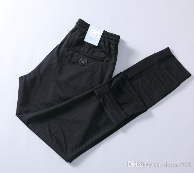 (Groß- / Einzelhandel) Frühling und Sommer neue elastischer Gurt Männer gerade dünner große Männer Casual Hosen